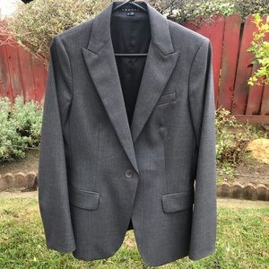 THEORY blazer gray excellent condition sz12